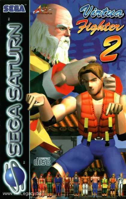 Misc. Games - Virtua Fighter 2