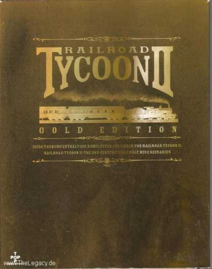 Misc. Games - Railroad Tycoon II - Gold Edition