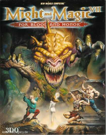 Misc. Games - Might and Magic VII: For Blood and Honour