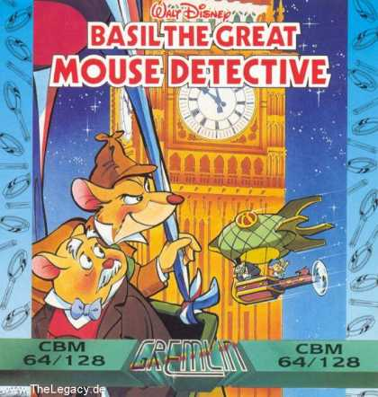 Misc. Games - Basil the Great Mouse Detective