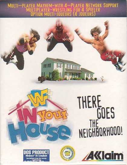 Misc. Games - WWF in Your House