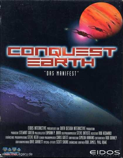 Misc. Games - Conquest Earth: Das Manifest