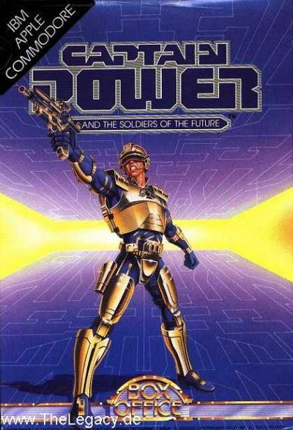 Misc. Games - Captain Power: and the Soldiers of the Future