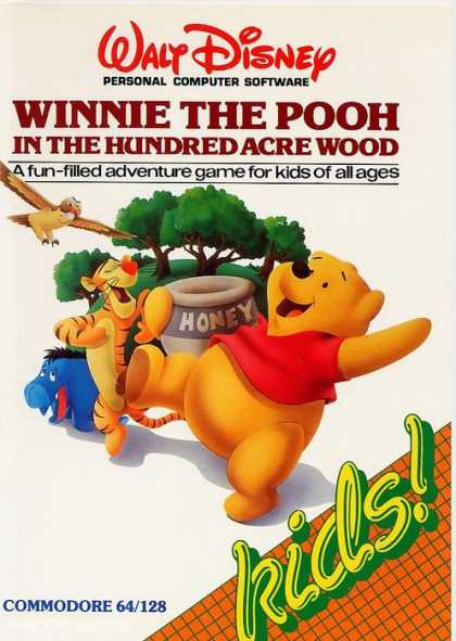 Misc. Games - Winnie the Pooh: In the Hundred Acre Wood