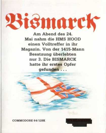 Misc. Games - Bismarck: The North Atlantic Chase