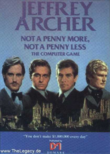 Misc. Games - Jeffrey Archer: Not a penny more, not a penny less