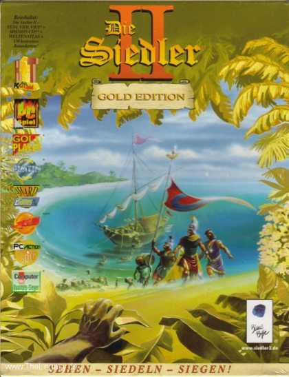 Misc. Games - Siedler II, Die - Gold Edition