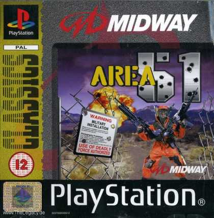 Misc. Games - Area 51