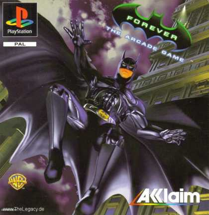 Misc. Games - Batman Forever: The Arcade Game