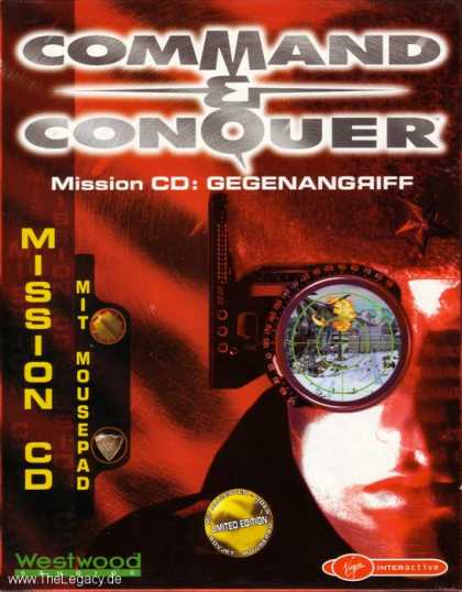 Misc. Games - Command & Conquer: Gegenangriff