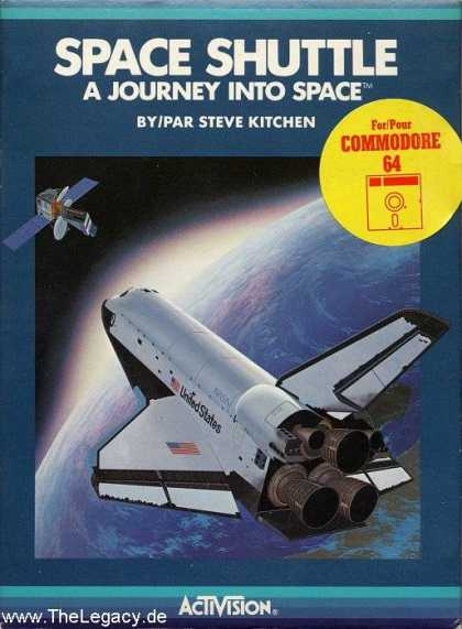 Misc. Games - Space Shuttle: A Journey into Space