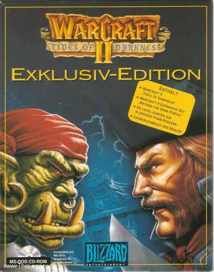 Misc. Games - WarCraft II: Tides of Darkness -Exklusiv-Edition-