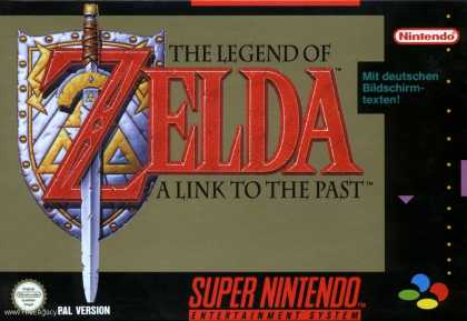Misc. Games - Legend of Zelda, The - A Link to the Past