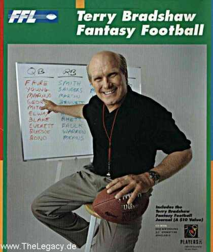 Misc. Games - Terry Bradshaw Fantasy Football