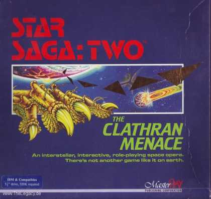 Misc. Games - Star Saga Two: The Clathran Menace