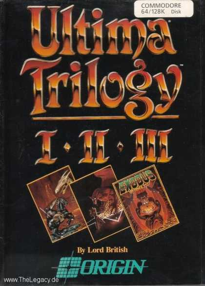 Misc. Games - Ultima Trilogy I-II-III
