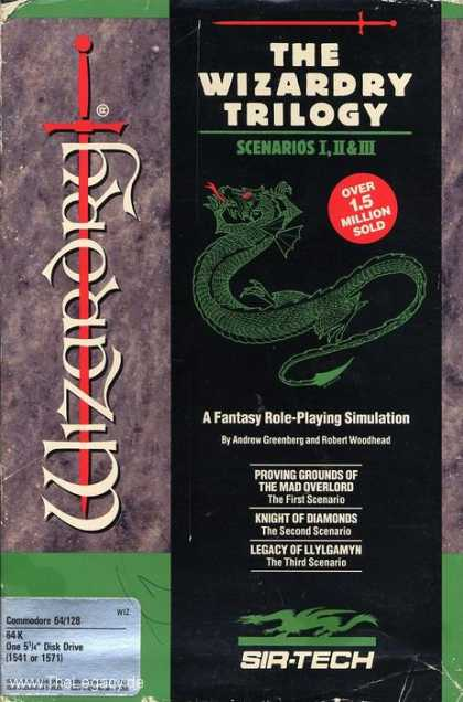 Misc. Games - Wizardry Trilogy, The: Scenarios I,II,III