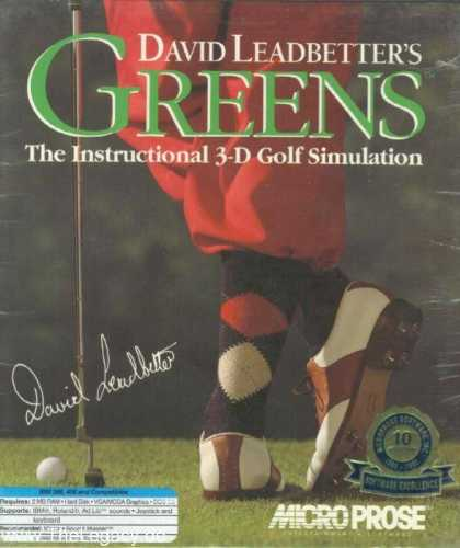 Misc. Games - David Leadbetters Greens