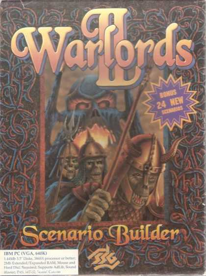 Misc. Games - Warlords II: Scenario Builder