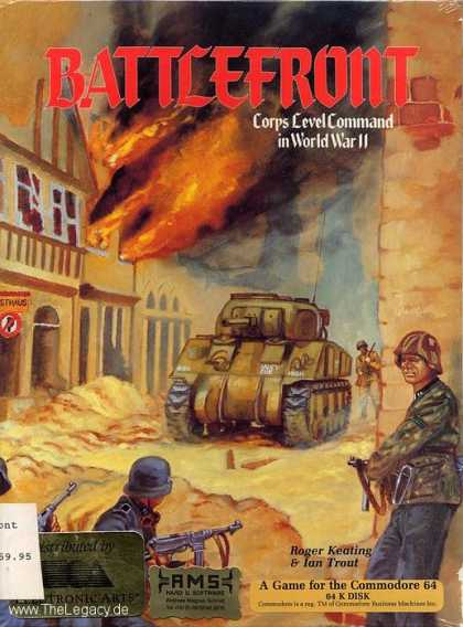 Misc. Games - Battlefront: Corps Level Command in World War II