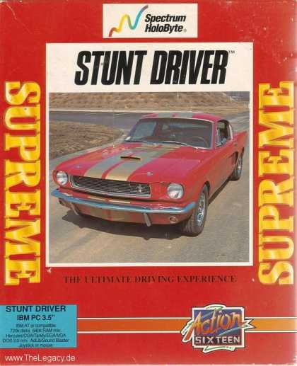 Misc. Games - Stunt Driver