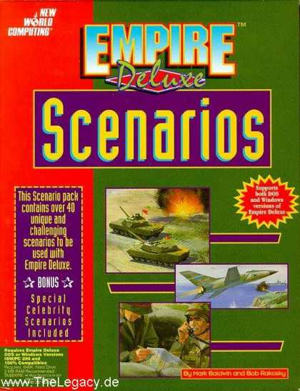Misc. Games - Empire Deluxe: Scenarios