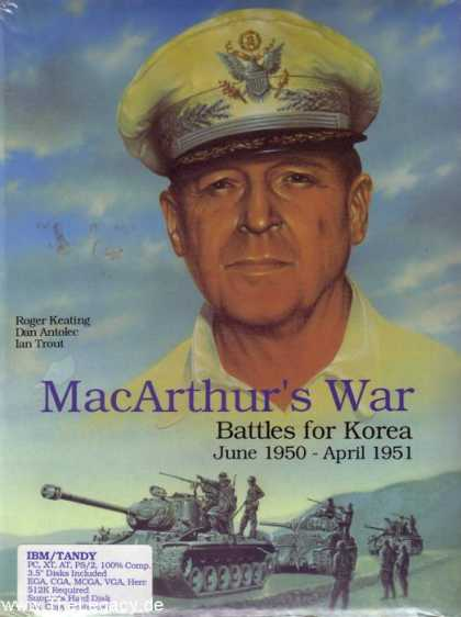 Misc. Games - MacArthur's War: Battles for Korea