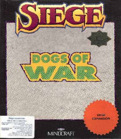 Misc. Games - Siege: The Dogs of War
