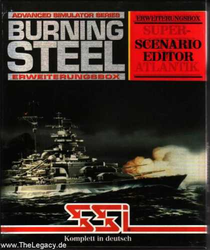 Misc. Games - Burning Steel: Scenario Editor