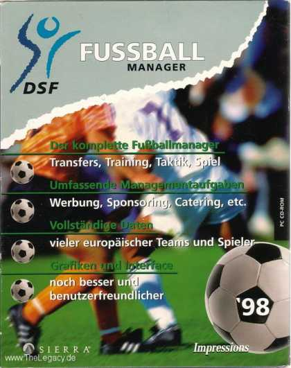 Misc. Games - DSF Fussball Manager '98