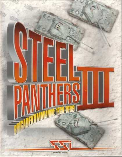 Misc. Games - Steel Panthers III: Brigadekommando 1939-1999