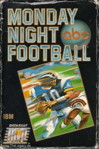 Misc. Games - Monday Night Football