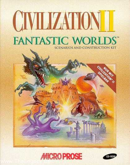 Misc. Games - Civilization II: Fantastic Worlds