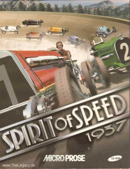 Misc. Games - Spirit of Speed 1937
