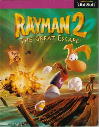 Misc. Games - Rayman 2: The Great Escape