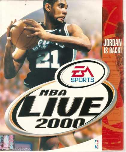 Misc. Games - NBA Live 2000