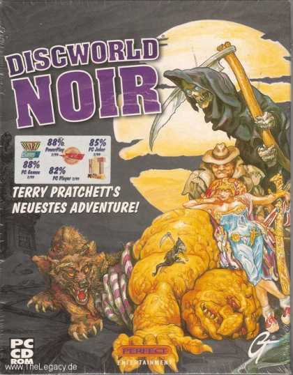 Misc. Games - Discworld Noir