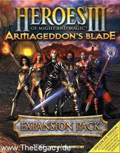 Misc. Games - Heroes of Might and Magic III: Armageddon's Blade