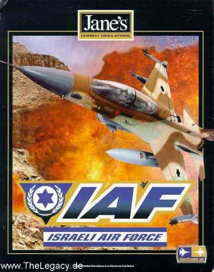 Misc. Games - Jane's Combat Simulations - IAF: Israeli Air Force
