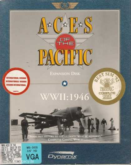 Misc. Games - Aces of the Pacific: WWII 1946