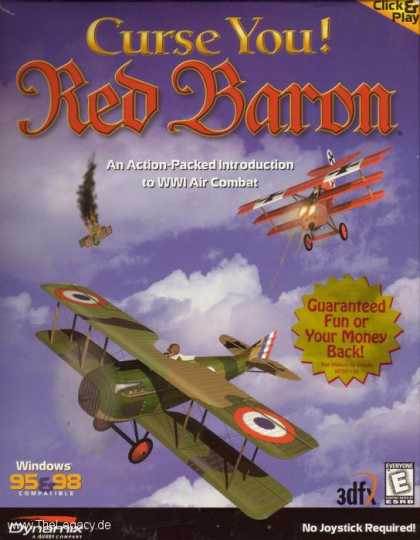Misc. Games - Curse You! Red Baron