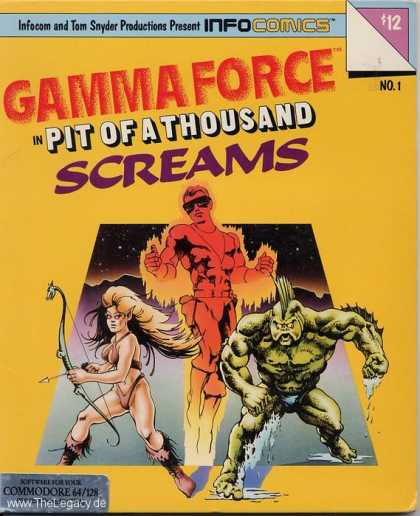 Misc. Games - Gamma Force: in Pit of a Thousand Screams