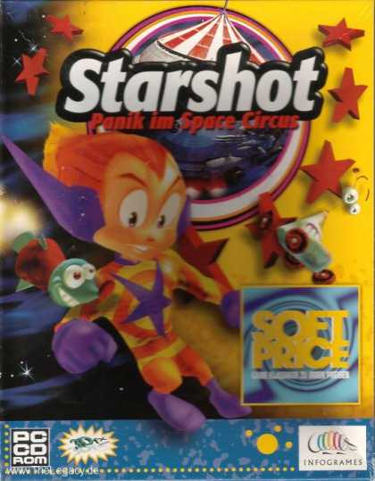 Misc. Games - Starshot: Panic in Space Circus