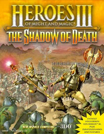 Misc. Games - Heroes of Might and Magic III: The Shadow of Death