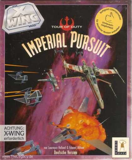 Misc. Games - Star Wars - X-Wing: Imperial Pursuit