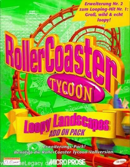 Misc. Games - RollerCoaster Tycoon: Loopy Landscapes