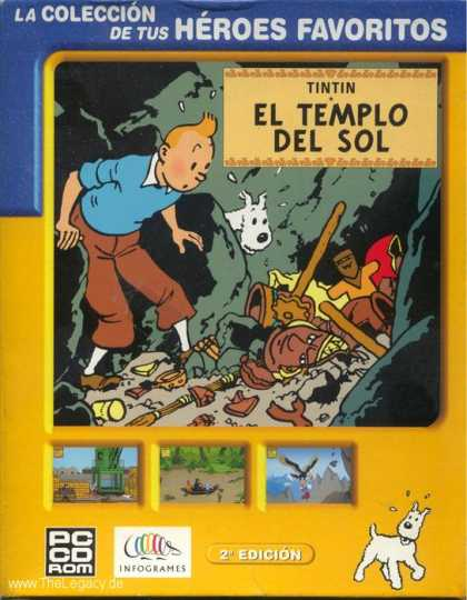Misc. Games - Adventures of Tintin, The: Prisoners of the Sun