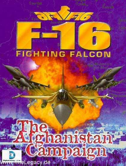 Misc. Games - F-16 Fighting Falcon: The Afghanistan Campaign