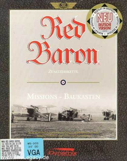 Misc. Games - Red Baron: Mission Builder