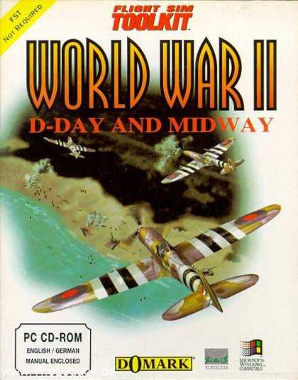 Misc. Games - Flight Sim Toolkit: World War II: D-Day and Midway
